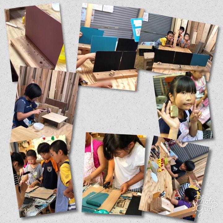 7月31日 DIYワークプレイス 黒板製作!(あすらん)1