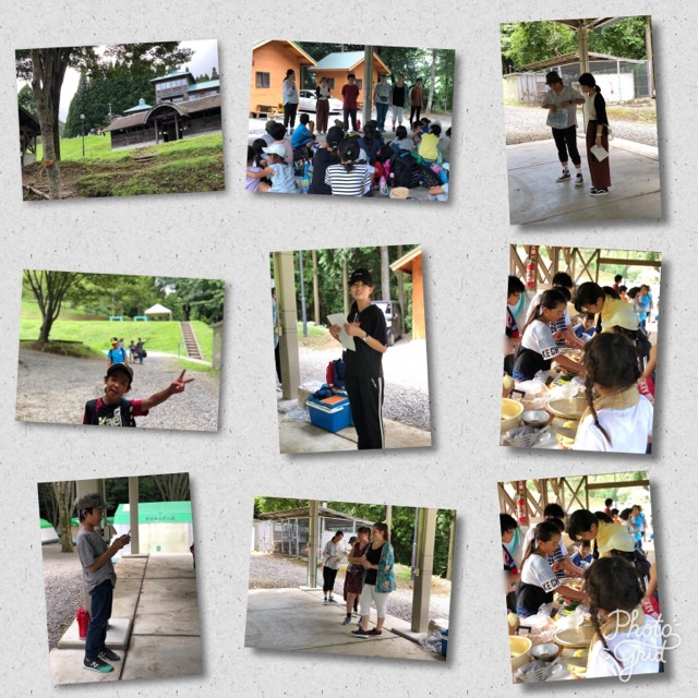8月8、9日 キャンプと国際交流!(あすらん)1