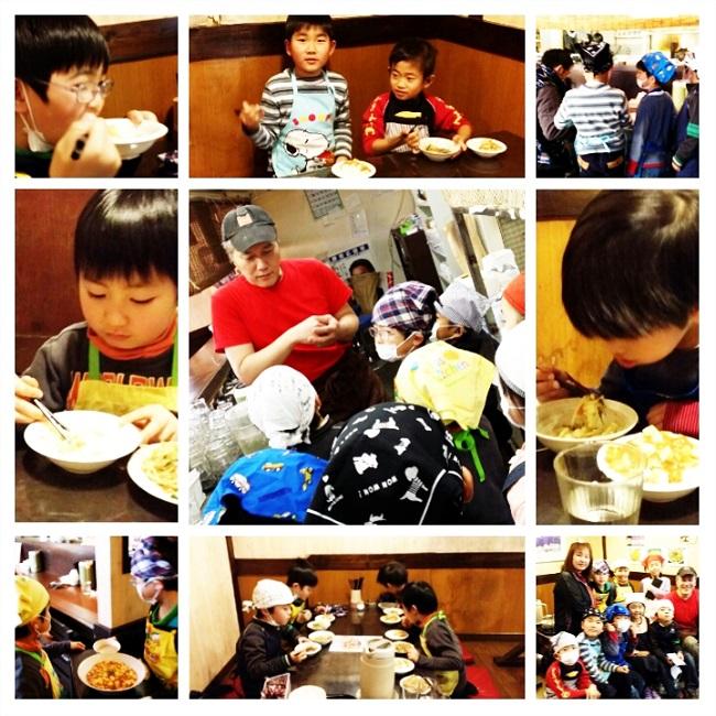 昭和焼飯店さんに職業体験2