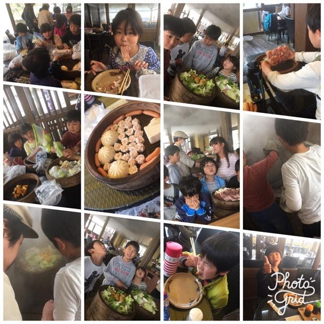 4月7日 地獄蒸し料理の体験!in別府の里の駅