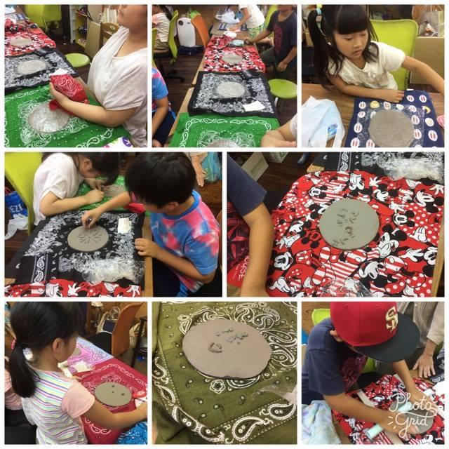 7月21日  陶芸教室!