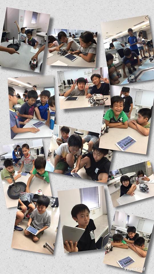 8月3日・6日 高学年プログラミング(あすらん)2