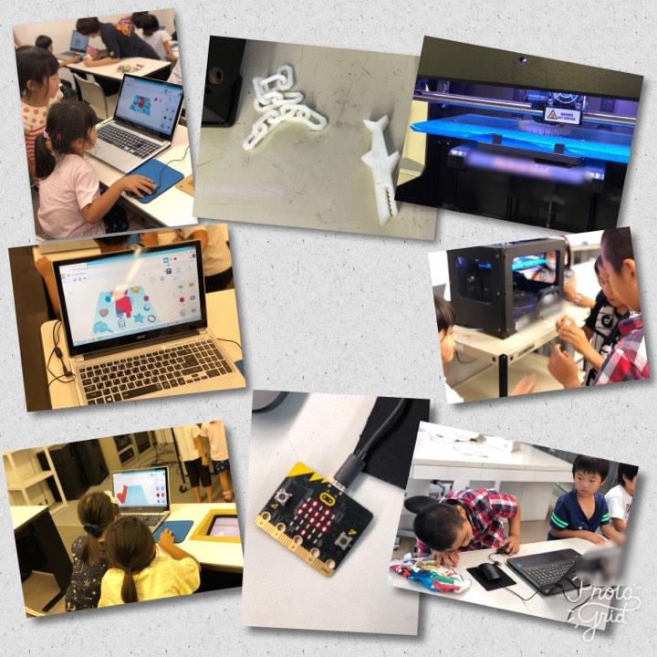 7月24日 マイクロビットと3Dプリンター!(あすらん)1