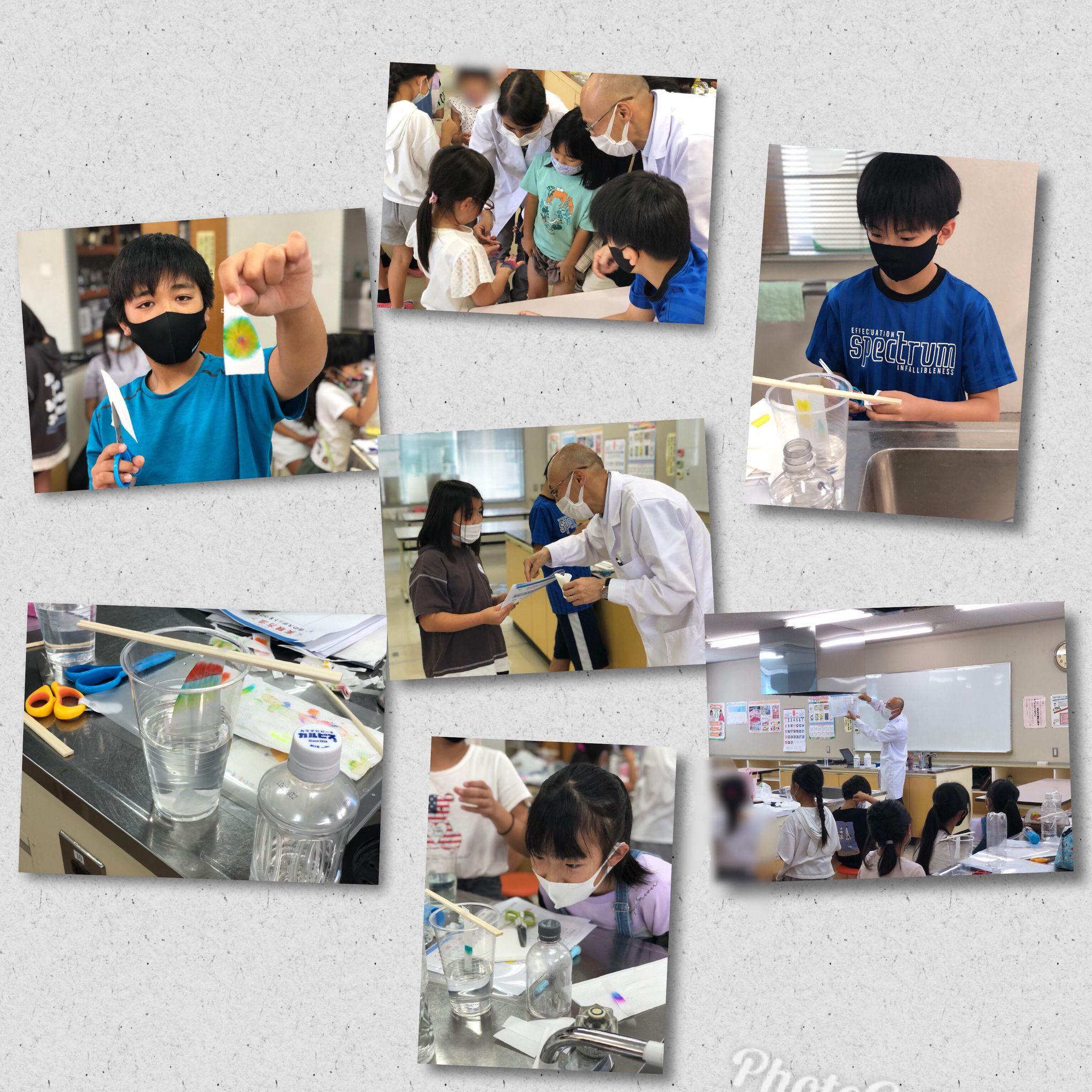 8月5日 うちらぼさんとコラボ科学実験教室!1